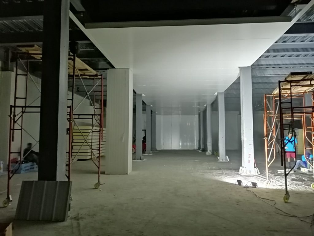 Maldives Cold Room Construction