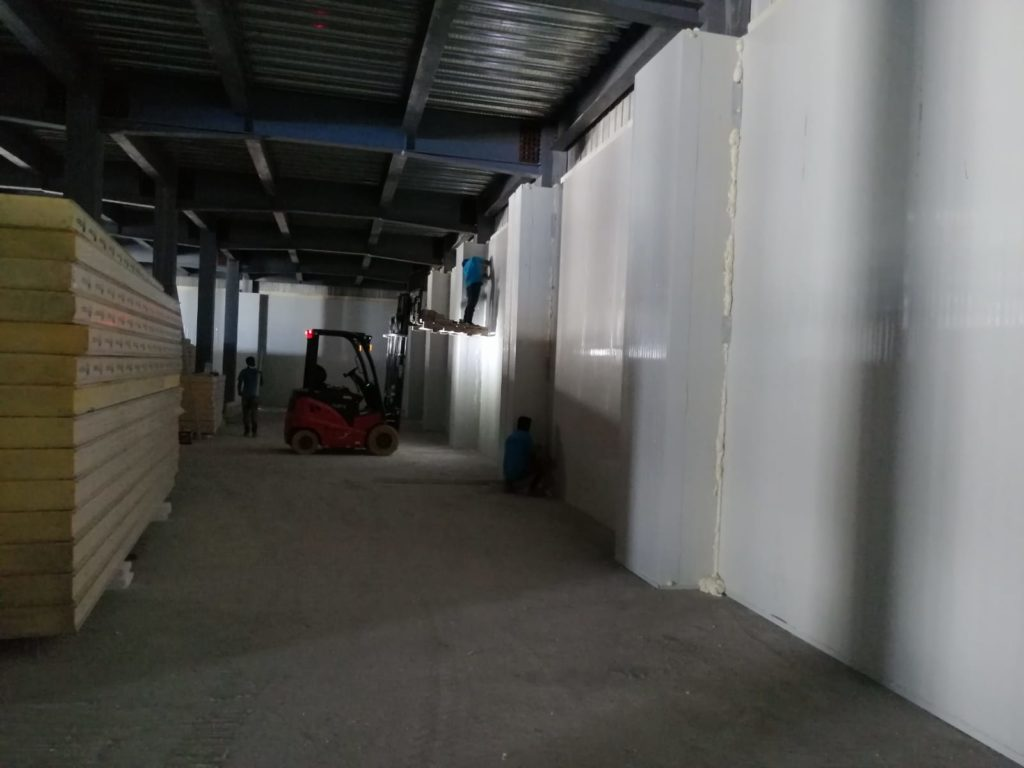 Maldives Cold Storage Installation