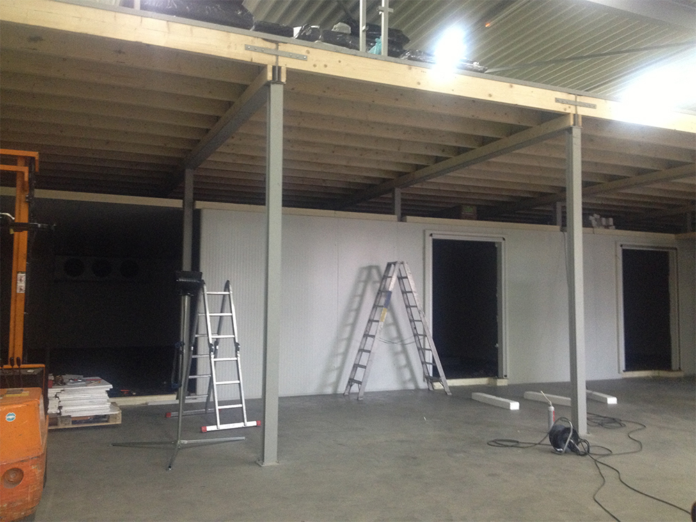 Netherlands Cold Storage Room Project