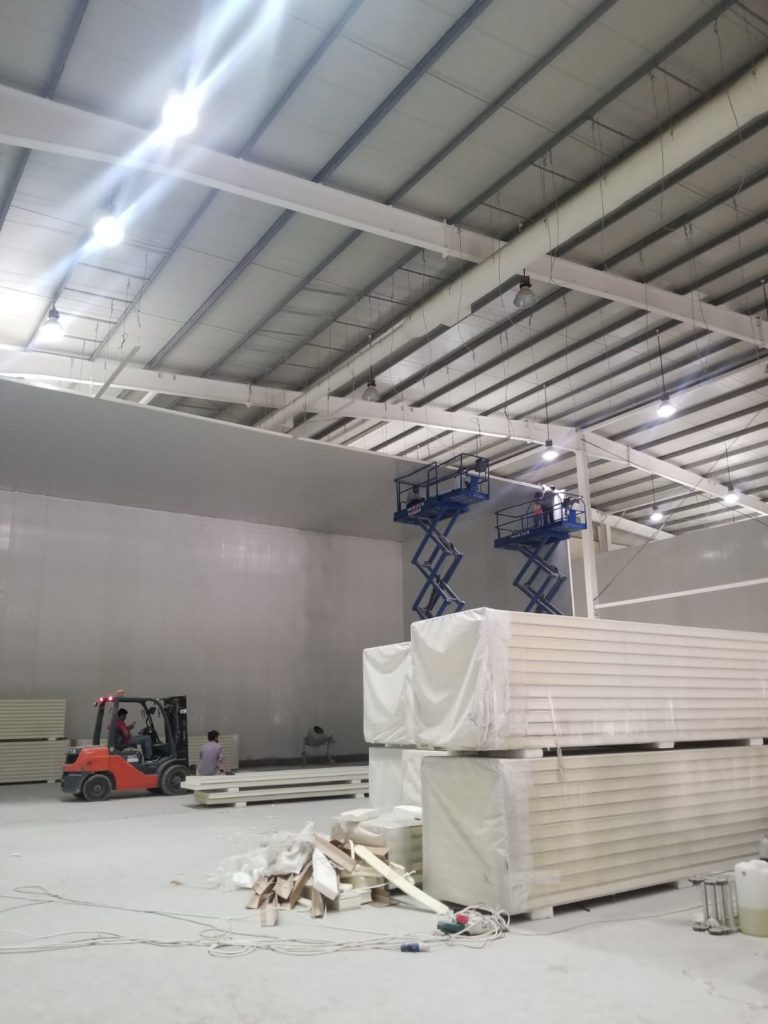 Qatar Cold Storage Assembly