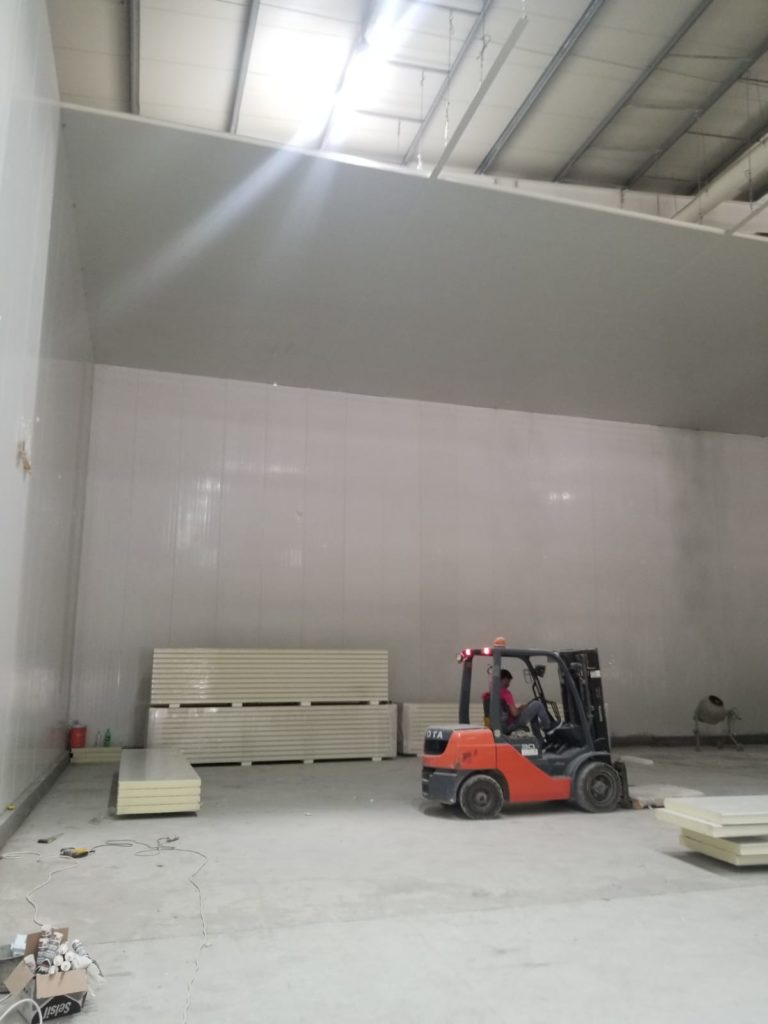 Qatar Cold Store Construction