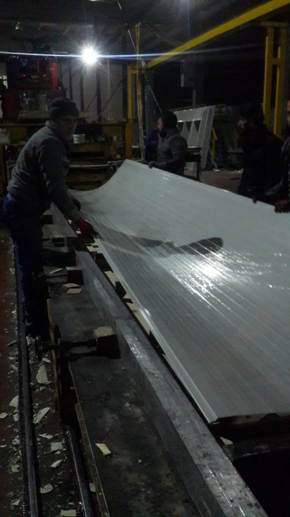 Cold Storage Panel Manufacture
