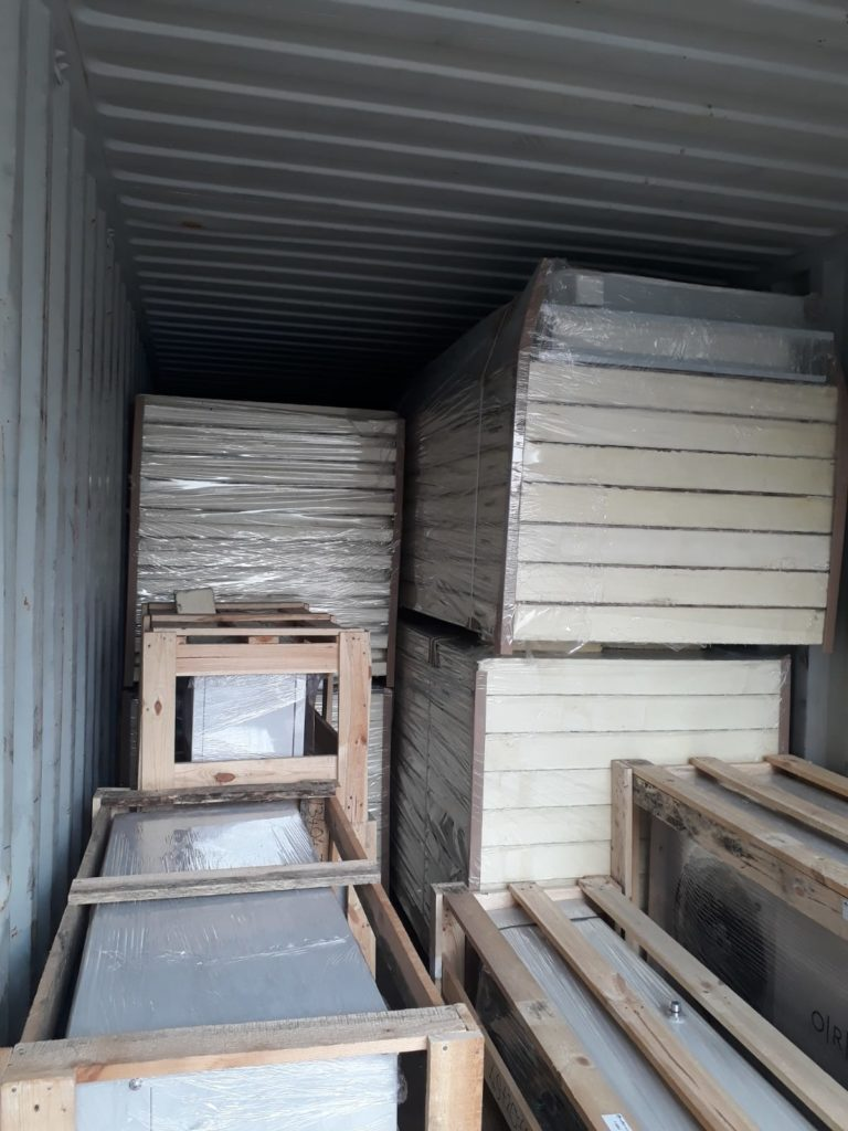 Malta Cold Storage Project Shipment