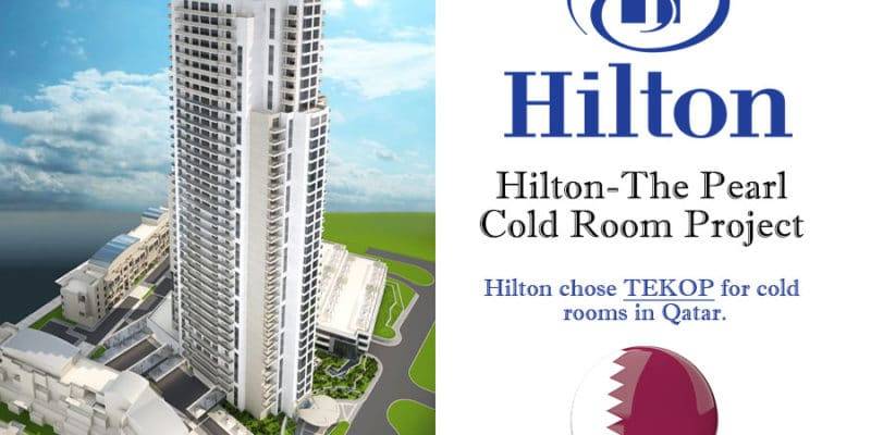 Hilton Cold Room Project in Qatar