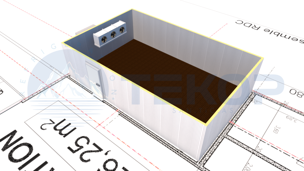 Cold Room Project 3D